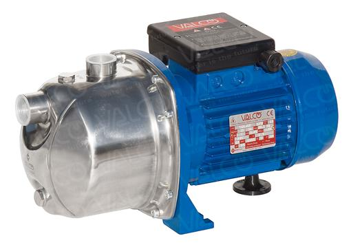 Surface Electric Pumps - Jetdom in stainless steel version