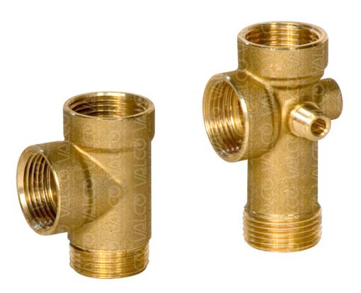 3 way and 5 way Brass Connectors