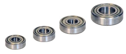 High performance deep grove rollers ball bearings with shields or seals watertight and prelubricated with grease. Specialties on demand.