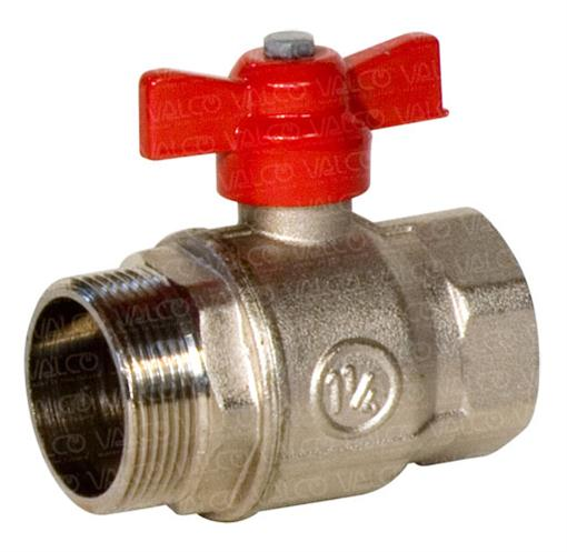 ECO-BV-BVSS Full bore brass and stainless steel