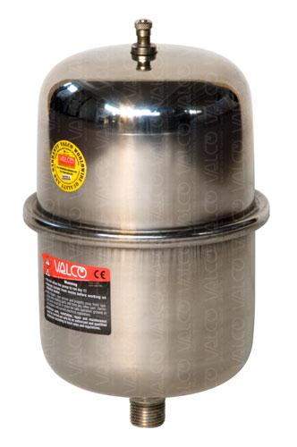F2-SS 2-litre stainless steel water hammer arrester