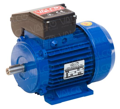Valco s r l single phase 2 pole for Single phase motor efficiency