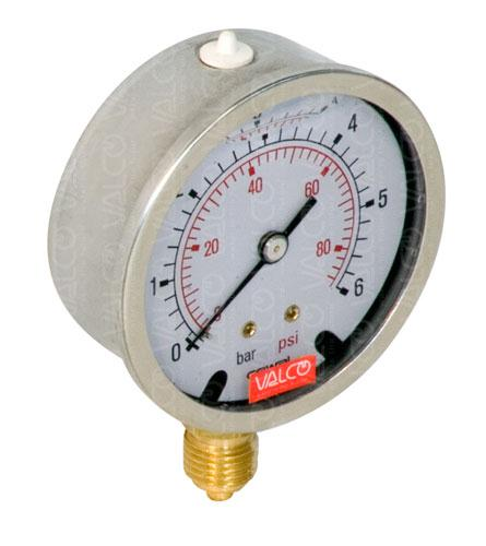 V50BG Pressure Gauges (manometres) with glycerine