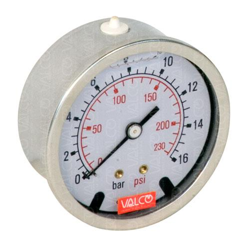 V50DG Pressure Gauges (manometres) with glycerine