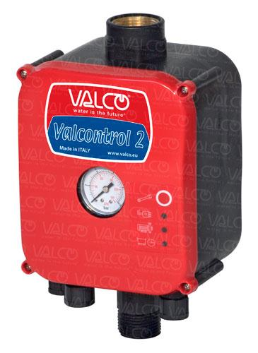 VALCONTROL-2 Pumpcontroller with temperature sensor for constant pressure: it eliminates cycling