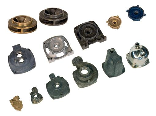 Castings and Die-castings: cast iron, bronze, stainless steel