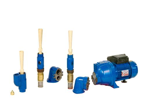 "Conva™ Deep well packer Single Pipe 2"" and Twin Pipe 4"" Pumps for deep boreholes"