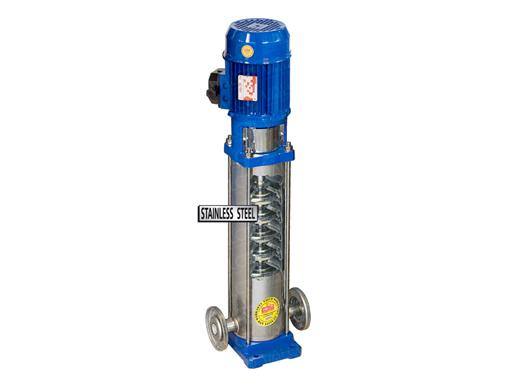 Nordica™ Multistage vertical. Silent operation. Pressure increased through stages and keeping fixed flow.