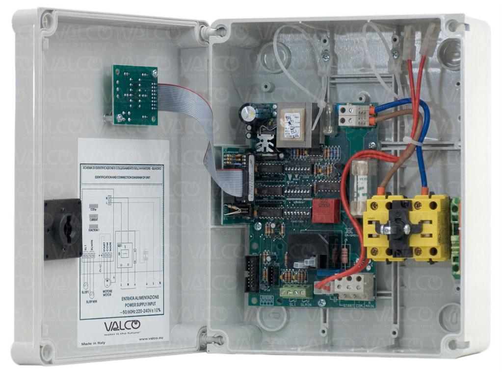 Valco S R L Ammetric Protection For One Single Phase