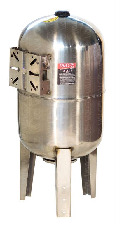 Valco S R L V60ss 60 Litres Vertical Stainless Steel