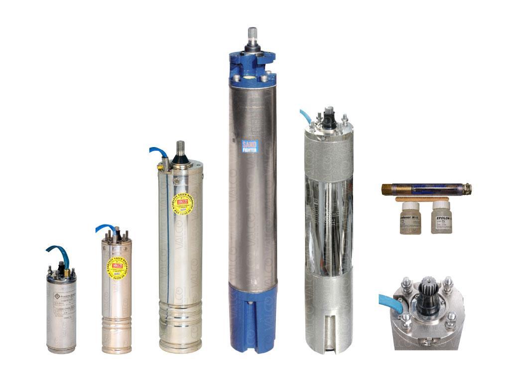 submersible pump motor parts